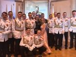 Участие выпускников Кадетского корпуса «Спасатель» в Императорском бале