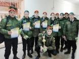Наши кадеты – победители Областного военно-спортивного конкурса!